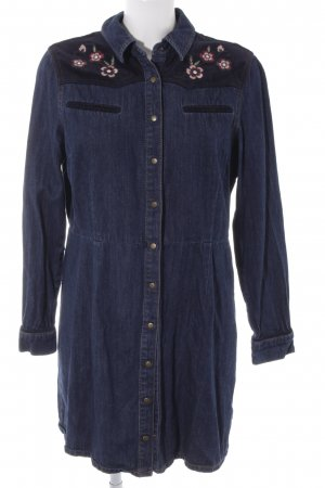 Dorothy Perkins Jeanskleid dunkelblau Jeans-Optik