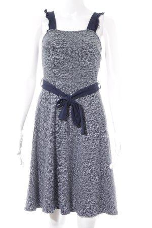 Dorothy Perkins Jerseykleid dunkelblau-weiß Punktemuster Casual-Look