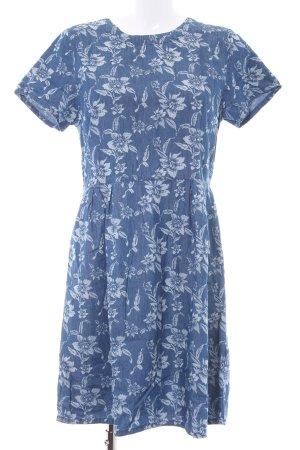 Dorothy Perkins Jerseykleid kornblumenblau-wollweiß Blumenmuster Casual-Look