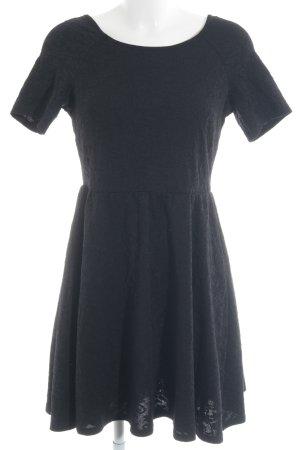 Dorothy Perkins Jerseykleid schwarz florales Muster Party-Look