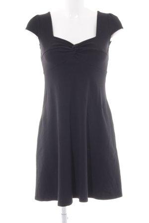 Dorothy Perkins Jerseykleid schwarz schlichter Stil