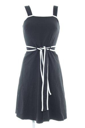 Dorothy Perkins Jerseykleid schwarz-wollweiß schlichter Stil