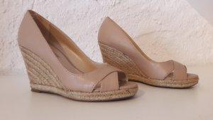 Dorothy Perkins Keilabsatz Sandalette nude