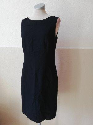 Dorothy Perkins Kleid Gr. 38 S M schwarz schwarzblau Etuikleid elegant