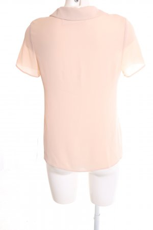 Dorothy Perkins Kurzarm-Bluse creme Business-Look