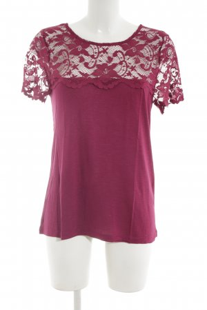 Dorothy Perkins Kurzarm-Bluse rot Casual-Look