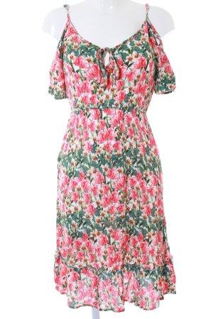 Dorothy Perkins Kurzarmkleid florales Muster Casual-Look