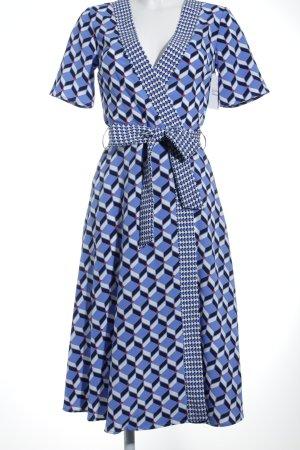 Dorothy Perkins Kurzarmkleid grafisches Muster 60ies-Stil