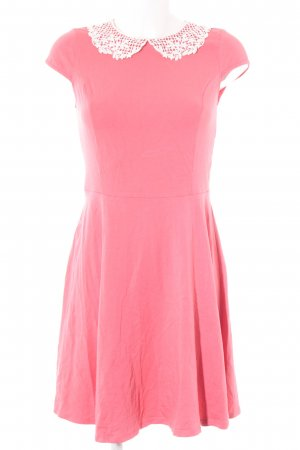 Dorothy Perkins Kurzarmkleid lachs Casual-Look