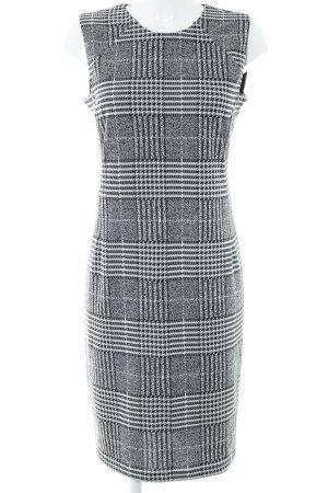 Dorothy Perkins Kurzarmkleid schwarz-weiß Karomuster Elegant