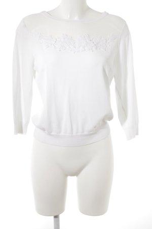 Dorothy Perkins Jersey de manga corta blanco look casual