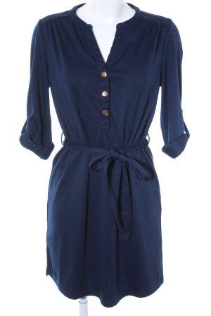 Dorothy Perkins Langarmkleid dunkelblau Casual-Look