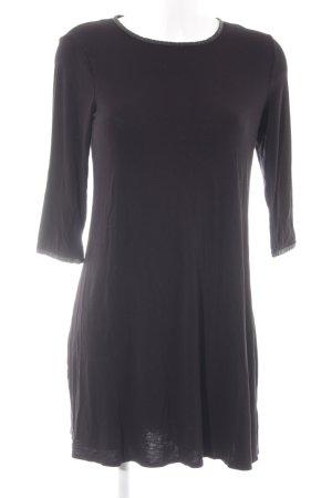 Dorothy Perkins Langarmkleid schwarz schlichter Stil