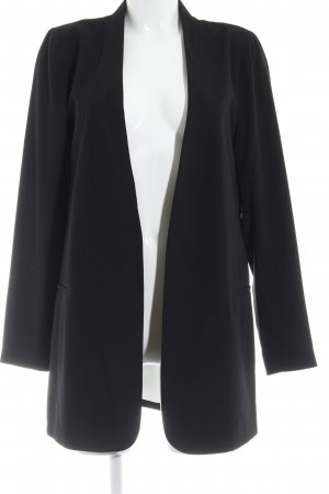 Dorothy Perkins Long-Blazer schwarz Casual-Look