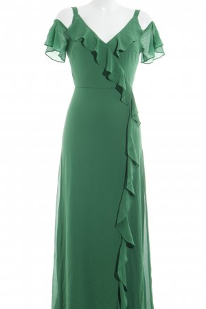 Dorothy Perkins Maxikleid grün Street-Fashion-Look