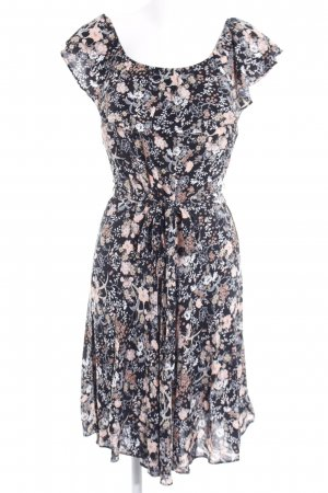 Dorothy Perkins Midi Dress black-apricot floral pattern casual look