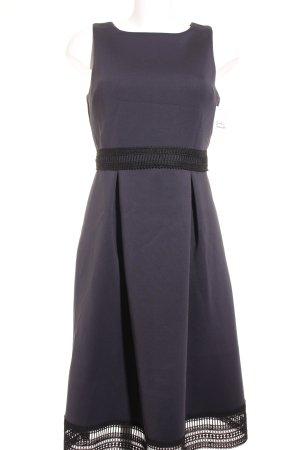 Dorothy Perkins Midikleid schwarz-dunkelblau klassischer Stil