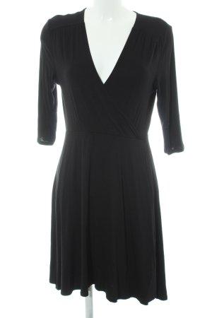 Dorothy Perkins Midikleid schwarz schlichter Stil