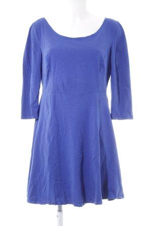Dorothy Perkins Midikleid stahlblau schlichter Stil