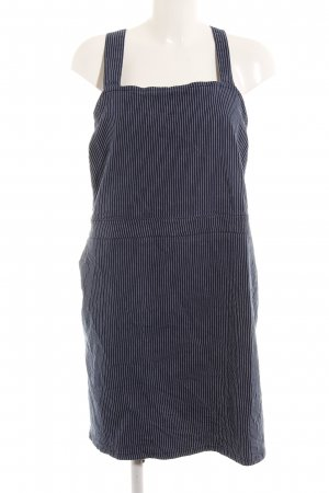 Dorothy Perkins Minikleid weiß-blau Streifenmuster Street-Fashion-Look