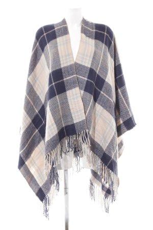 Dorothy Perkins Poncho check pattern fluffy