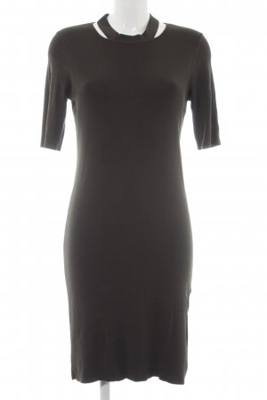 Dorothy Perkins Tube Dress dark green simple style