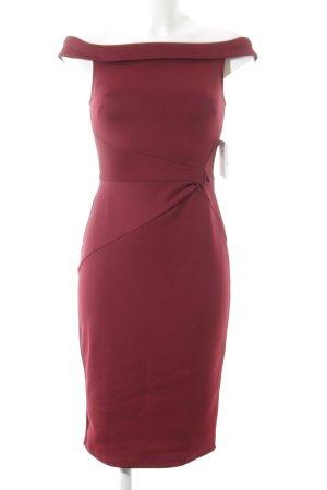 Dorothy Perkins schulterfreies Kleid karminrot Elegant