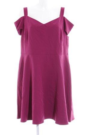 Dorothy Perkins schulterfreies Kleid violett Elegant
