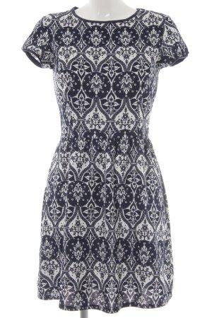 Dorothy Perkins Shirt Dress white-dark blue embellished pattern casual look