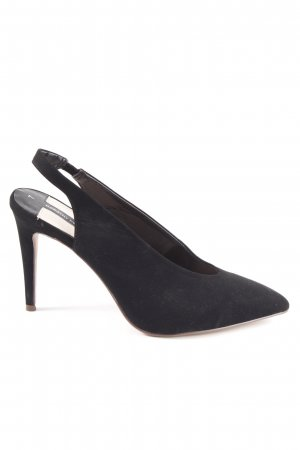 Dorothy Perkins Slingback Pumps black simple style