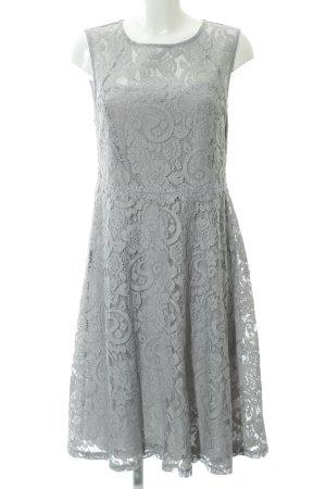 Dorothy Perkins Robe en dentelle gris clair motif floral élégant
