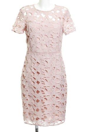 Dorothy Perkins Spitzenkleid rosa florales Muster Elegant