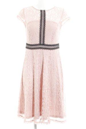 Dorothy Perkins Spitzenkleid rosé florales Muster Elegant
