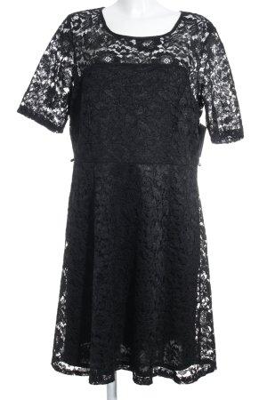 Dorothy Perkins Vestido de encaje negro elegante