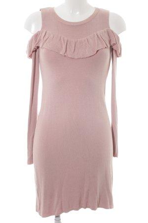 Dorothy Perkins Strickkleid roségoldfarben Casual-Look