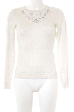 Dorothy Perkins Jersey de punto blanco puro look casual