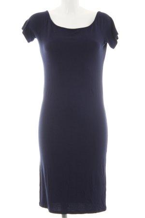 Dorothy Perkins Vestido de tela de sudadera azul oscuro look casual