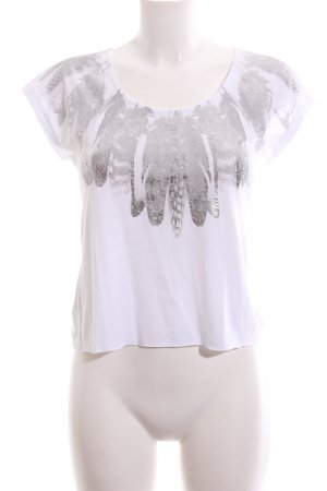 Dorothy Perkins T-Shirt weiß Casual-Look