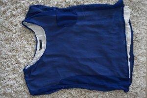 Dotti (australisch) - Blaues T-Shirt mit weißem T-Shirt darunter, S