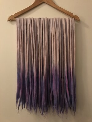 Double Ended Dreadlocks Dreads aus Wolle selfmade