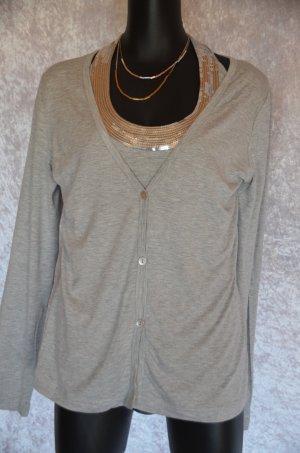 Double Layer Shirt von Heine in hellgrau