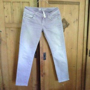 Jeans a 7/8 viola