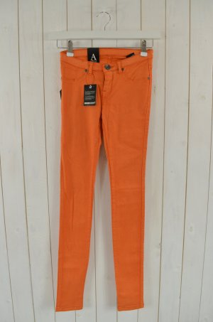 DR.DENIM Damen Jeans Jeggings Kissy Skinny Fit Stretch Orange