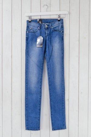 DR.DENIM Damen Jeans Mod. JAMIE Tight Low Waist Hellblau Baumwolle Elastan 26/32