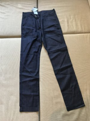 Chinos dark blue-steel blue