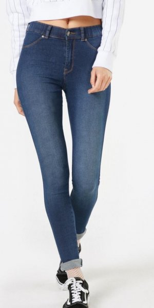 "Dr. Denim ""Plenty"" Jegging in dunkelblau"