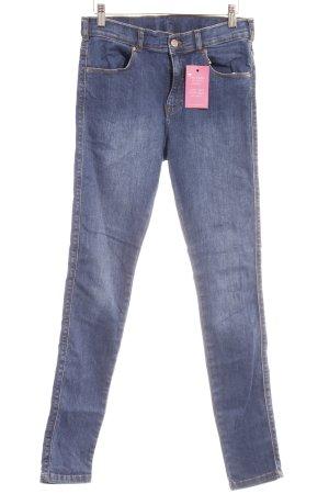 Dr. Denim Skinny Jeans blau-bronzefarben Casual-Look