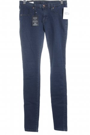 Dr. Denim Skinny Jeans dunkelblau Street-Fashion-Look