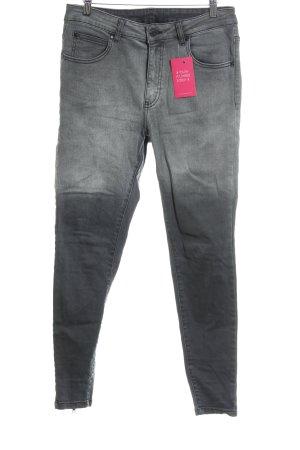 Dr. Denim Skinny Jeans grau Casual-Look