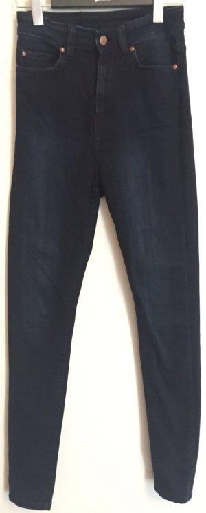 Dr. Denim, Skinny Jeans, Modell: Zoe Sky, High Waist, Dunkelblau, Größe 27/32